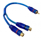 CABLE DE AUDIO 2 HEMBRAS 1 MACHO ADAPTADOR