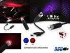 LAMPARA LED DECORATILD USB CIELO AZUL
